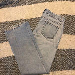Denim - Banana republic straight leg jeans